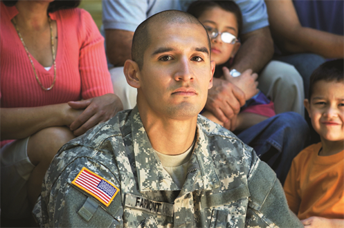 An US Army Soldier
